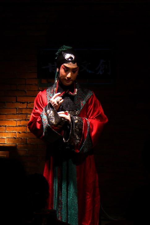 《曹七巧》服裝設計 ,李清照私人劇團,2011,台北/北京