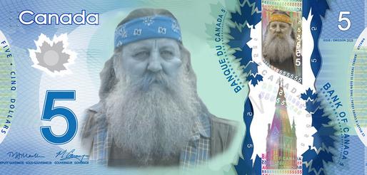 Les nouveaux billets de 5$ porteront le visage de… Cayouche!