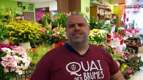 Serge Brideau lâche la musique et devient fleuriste