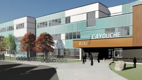 La nouvelle école de Moncton s'appellera l'École Cayouche