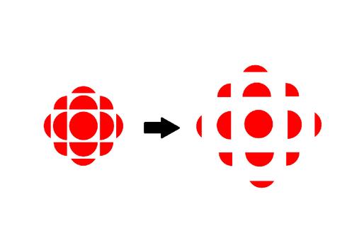 Radio-Canada change son logo pour respecter les règlements de la COVID-19