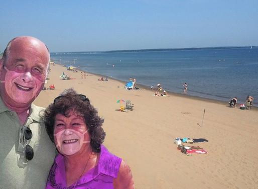 Rhéal et Lucie témoignent de leur fin de semaine à Parlee Beach