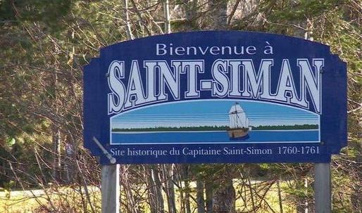 Une pétition afin de changer l'orthographe de St-Simon