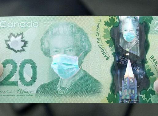 Des faux billets de 20$ retrouvés au Canada