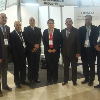 """14 Nov. 2017 - L'UPIAM conduit la délégation algérienne à """"Bursa Automotive Meetings"""""""