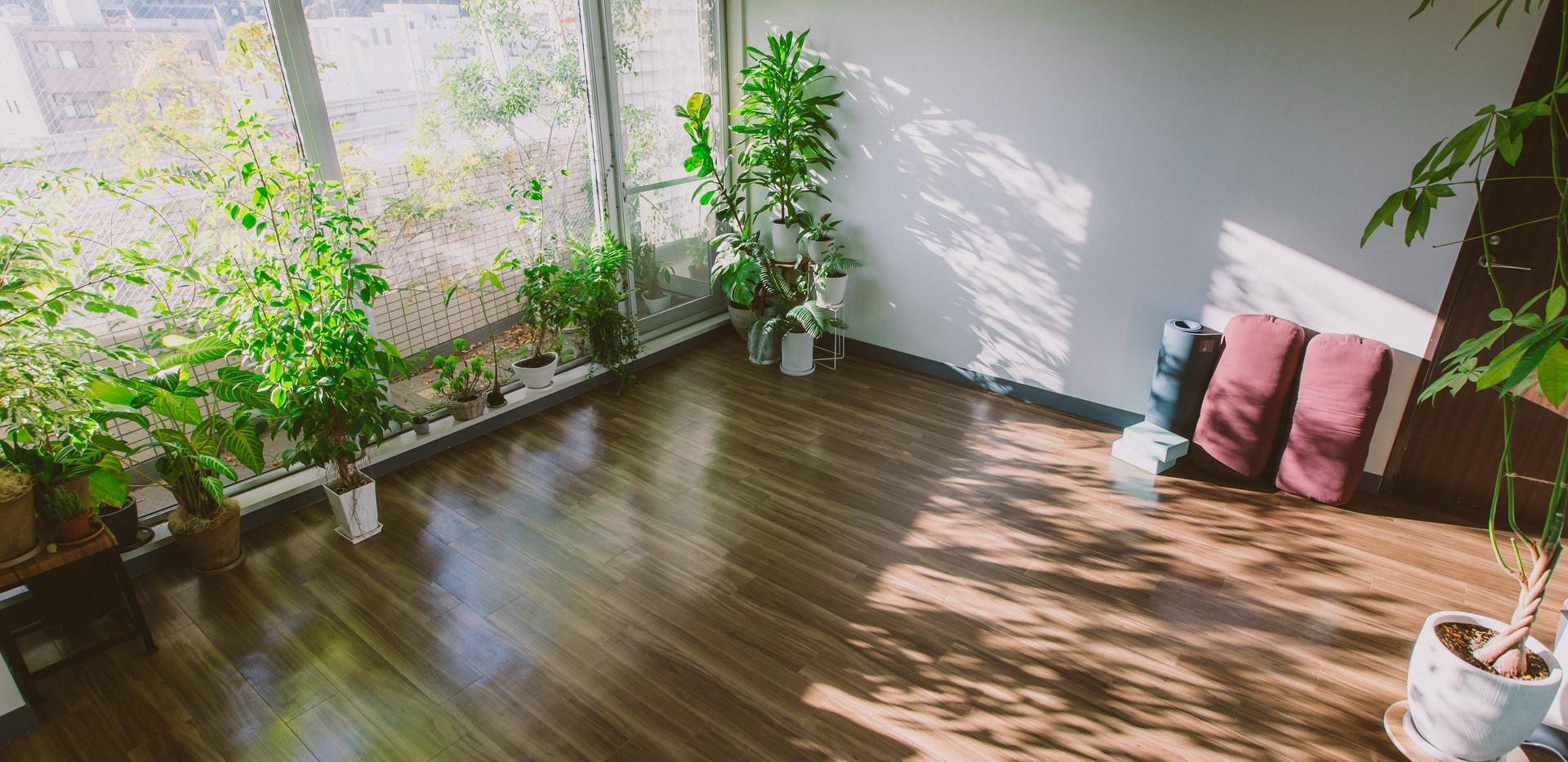 スタジオについて|横浜、元町・中華街にあるヨガスタジオ studio Sahan