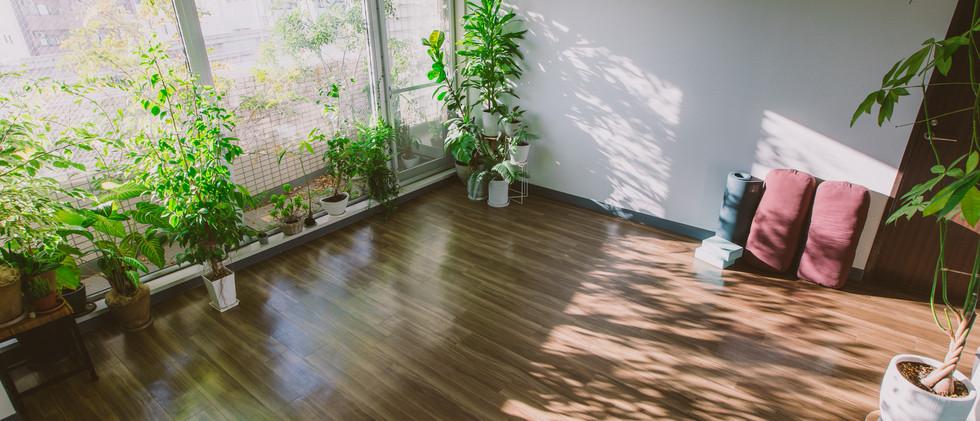 スタジオについて 横浜、元町・中華街にあるヨガスタジオ studio Sahan