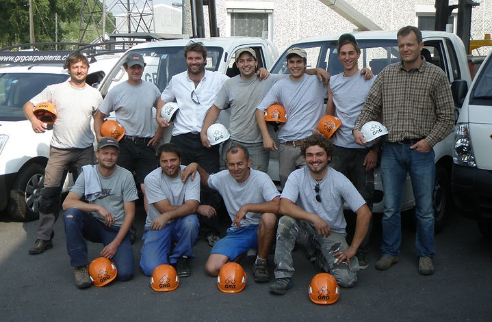 Team GRG Carpentera 2010