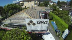 Copertura casa ad Ascona