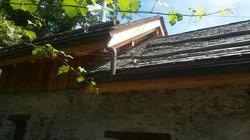 Tetto larice, piodelle e plafonatura - Crattolo (10)