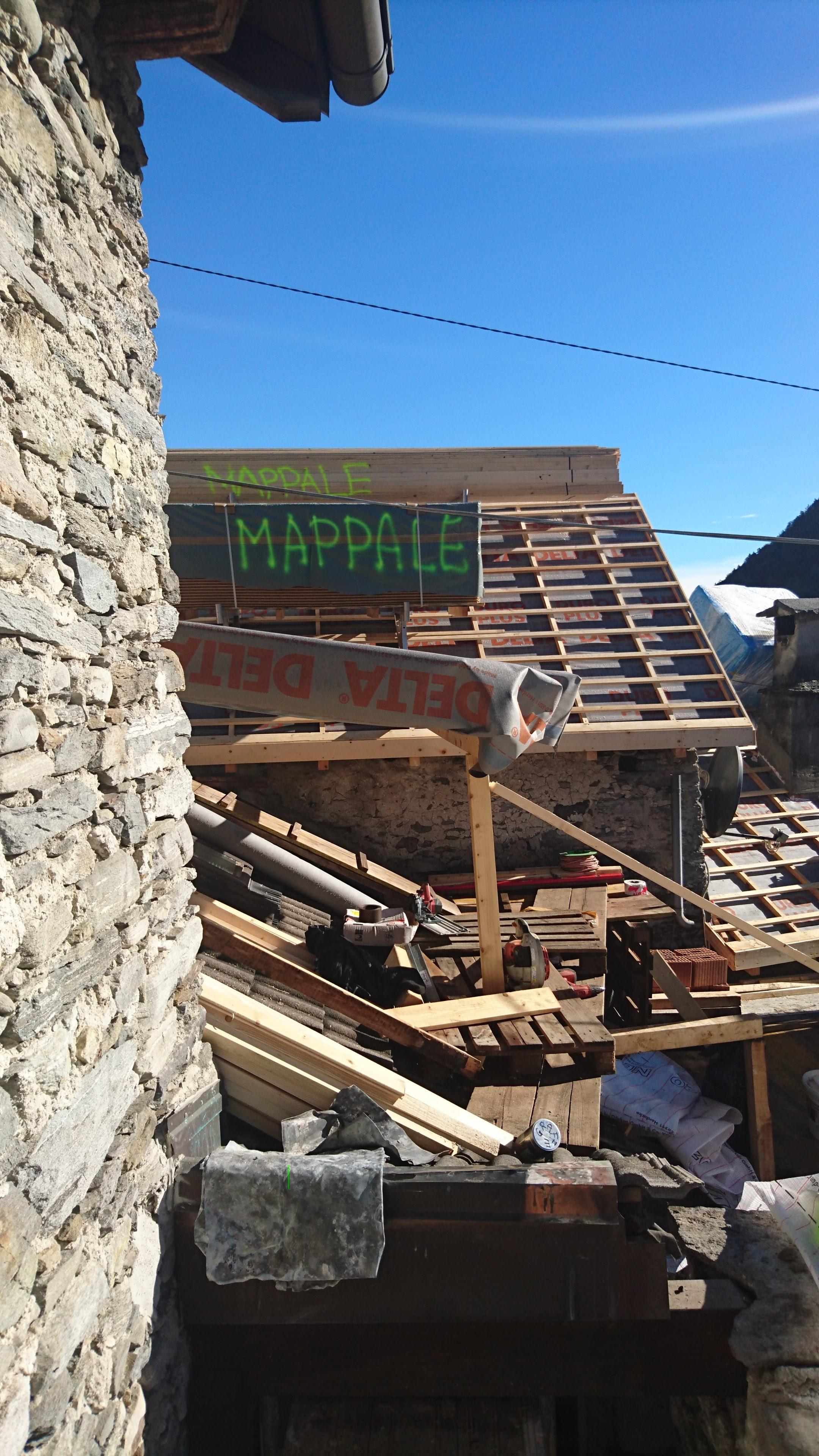 Risanamento tetto a Intragna (4)
