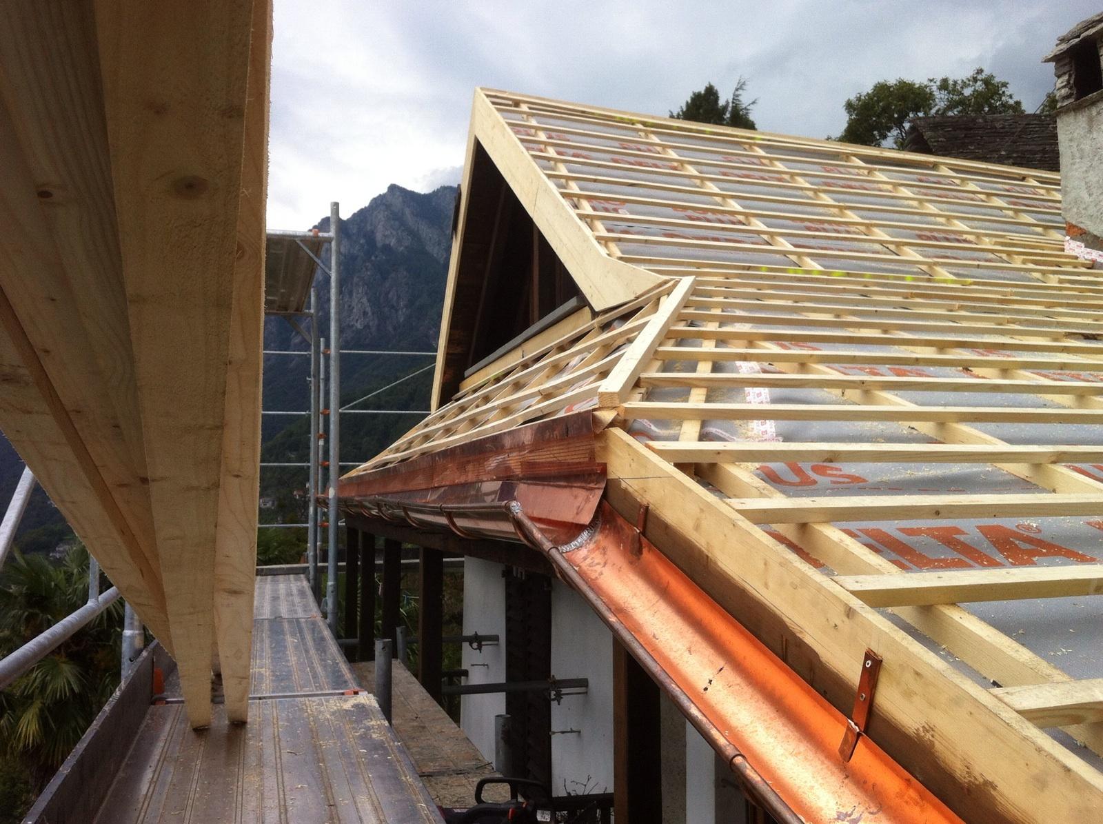 Risanamento tetto ad Auressio (9)