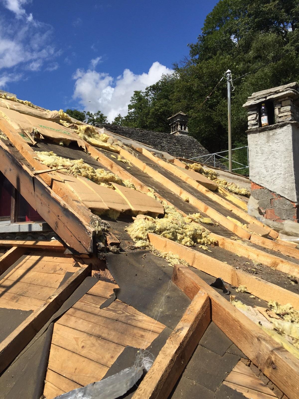 Risanamento tetto ad Auressio (7)