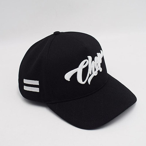 Black/ Whte Chop Cap