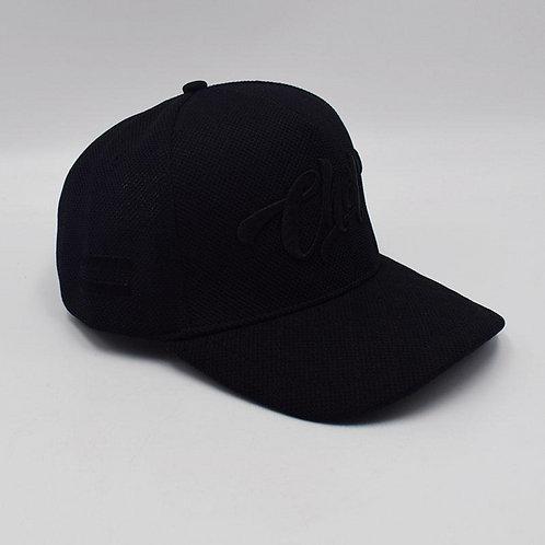 Triple Black Chop Baseball Hat