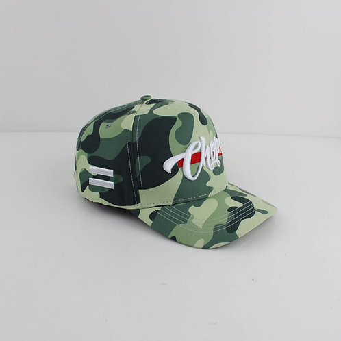 Green Camo ChopLife Cap
