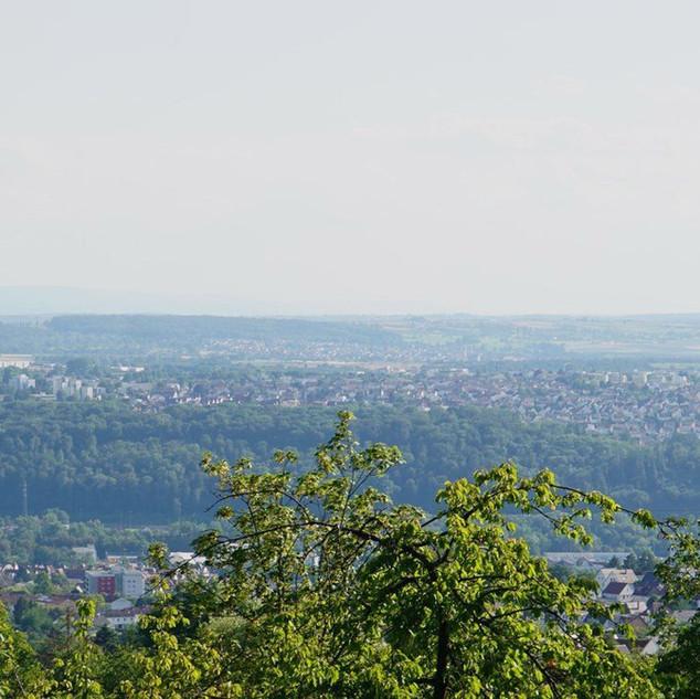 Blick von der Location Habitat