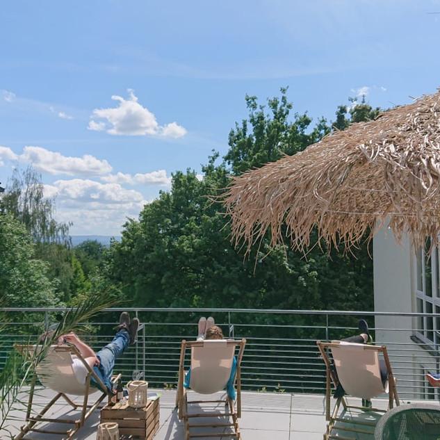 Sommerlounge im Habitat Esslingen
