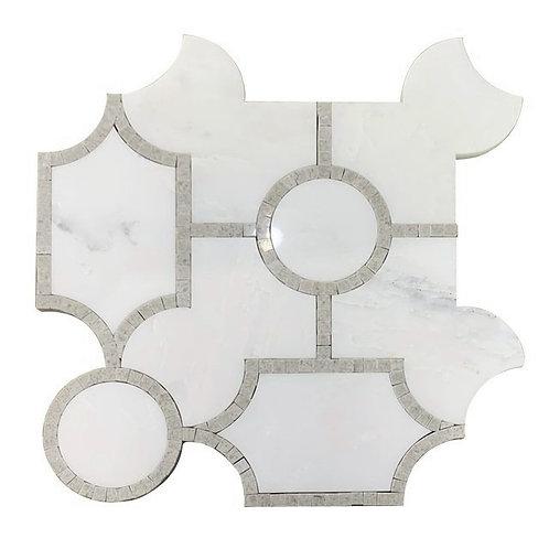 WJ Aspen Oriental White with Lady Grey Frame