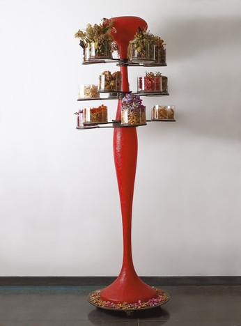 Red Tree, 2021, Mixed Media