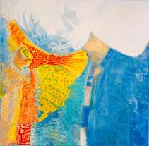 Heaven [3], 1997, oil on canvas, 100x100