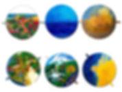 Six days of Creation diameter 1 m each.j