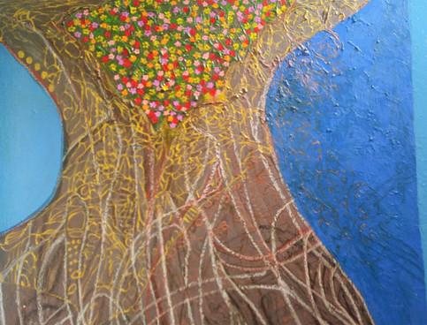 Tree, 2010, oil on canvas, 100x120