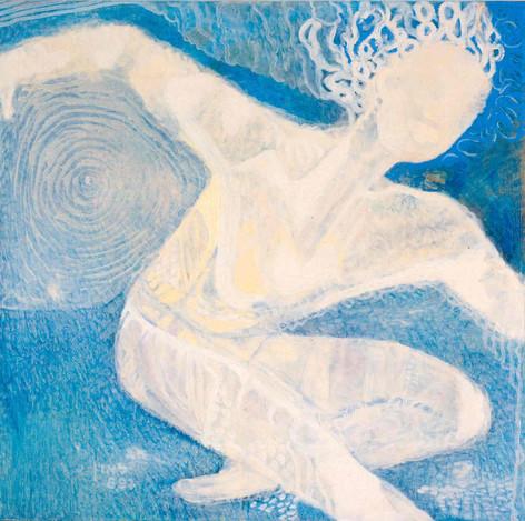 Heaven [6], 1997, oil on canvas, 100x100