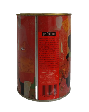 18 artist and one cafe (Elite), 1998-9,  artwork on cafe can,10x14