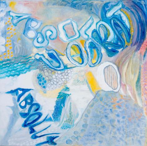 Heaven [8], 1997, oil on canvas, 100x100