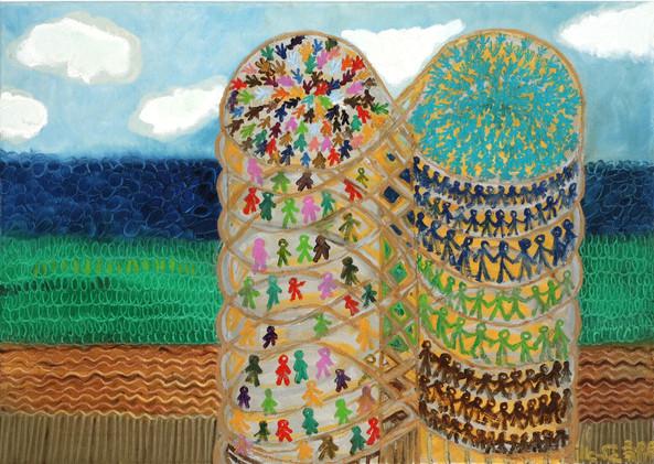 Infinity, 2006, oil on canvas, 50x70
