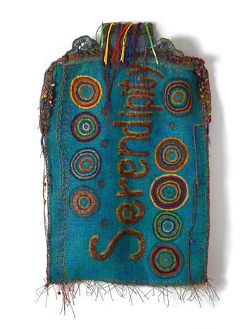 Serendipity (front), 2020, oil paint on yuta