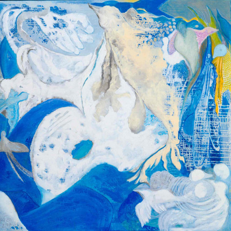 Heaven [14], 1997, oil on canvas, 100x100