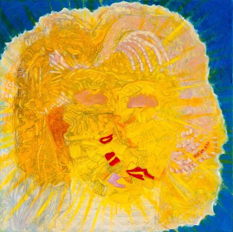 Heaven [2], 1997, oil on canvas, 100x100