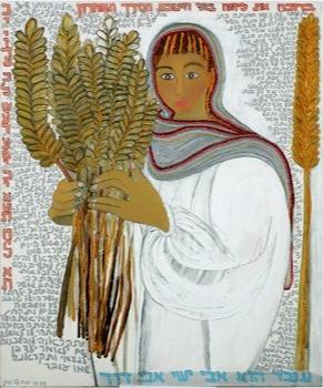 Ruth, 1999, oil on canvas, 100x120