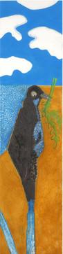 Israel (Craw), 2009, oil on canvas, 180x50