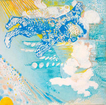 Heaven [9], 1997, oil on canvas, 100x100