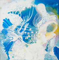 Heaven [10], 1997, oil on canvas, 100x100