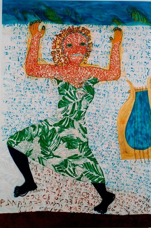Song of Deborah, 2000, oil on canvas, 180x120