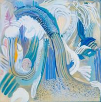 Heaven [5], 1997, oil on canvas, 100x100