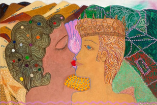 David's Wives, 2012, oil on canvas, 180x120 cm