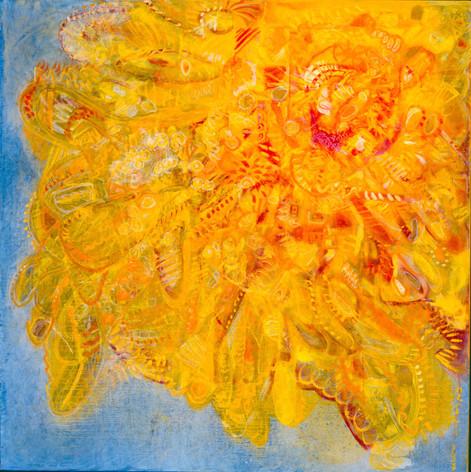 Heaven [1], 1997, oil on canvas, 100x100