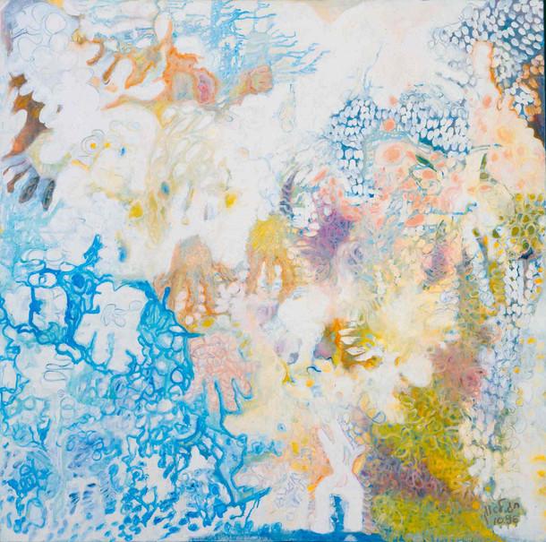 Heaven [4], 1997, oil on canvas, 100x100