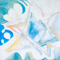 Heaven [7], 1997, oil on canvas, 100x100
