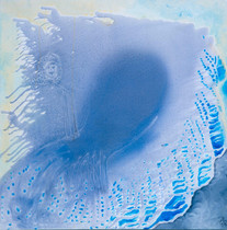 Heaven [11], 1997, oil on canvas, 100x100