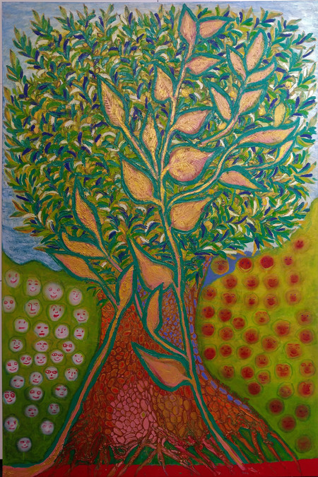 The Olive Tree, 2012, oil on canvas, 120x180