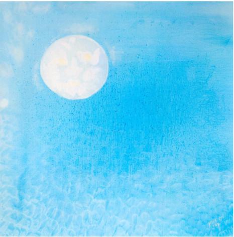 Heaven [12], 1997, oil on canvas, 100x100