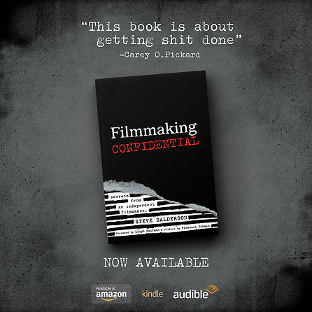 Filmmaking Confidential book of secrets paperback and audible