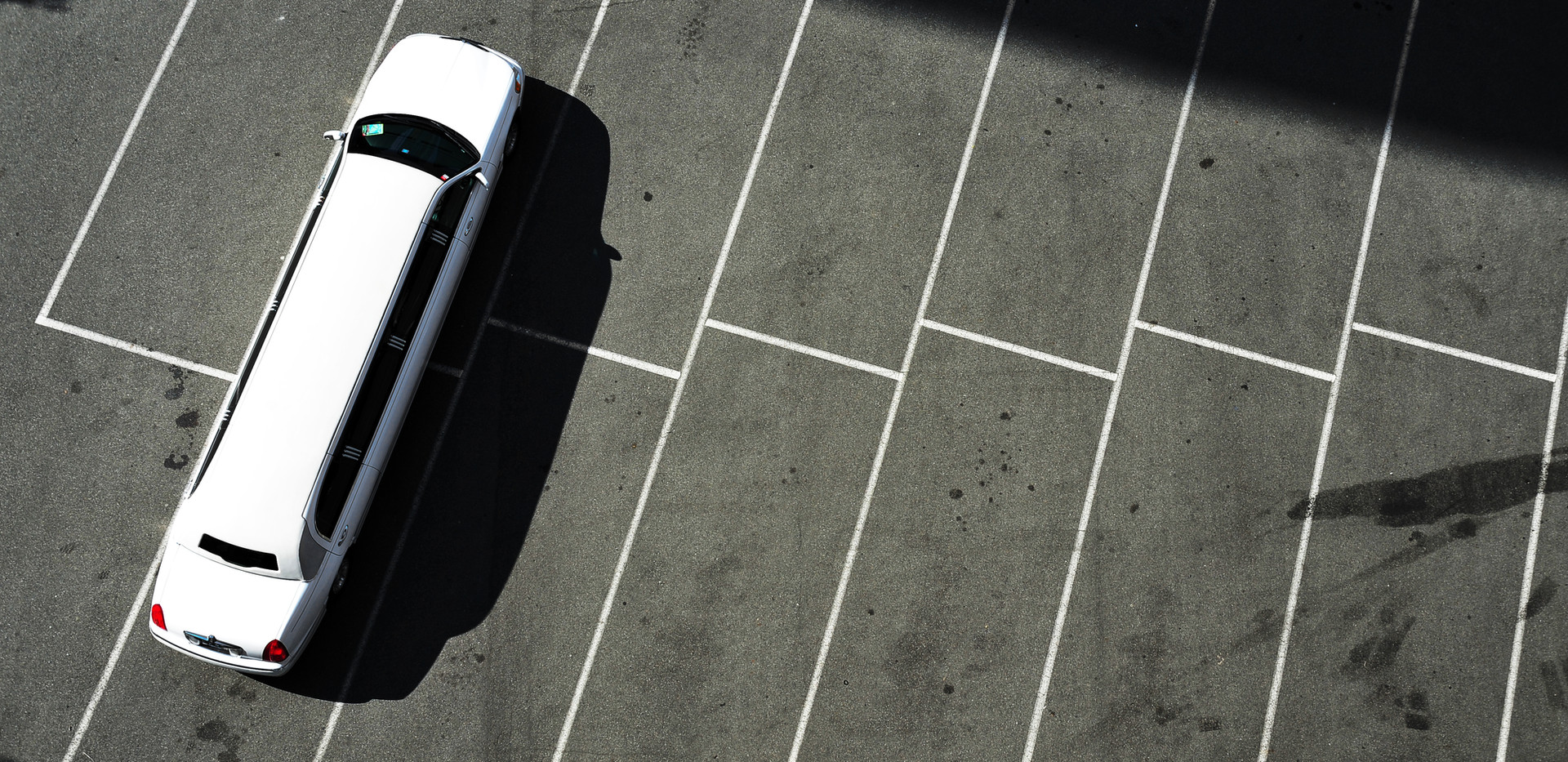 geparkt Limousine