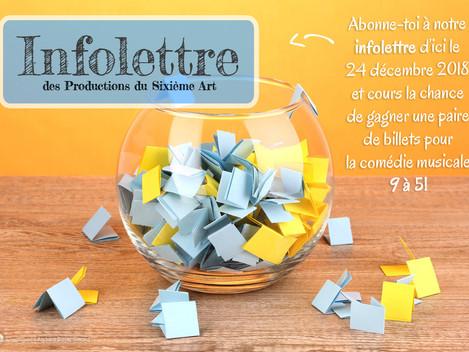 Concours de l'Infolettre!